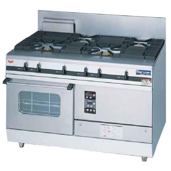 新品 送料無料 業務用 ガステーブル MGRXS-127F マルゼン パワークック ガスレンジ MGRXS-127F 4口コンロ W1200・D750・H800・B200