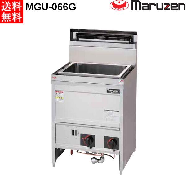 マルゼン ガス式 うどん釜 MGU-066G LPガス角槽タイプ