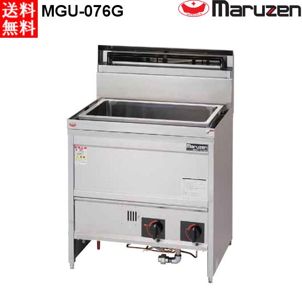 マルゼン ガス式 うどん釜 MGU-076G 都市ガス 角槽タイプ:プロマーケット