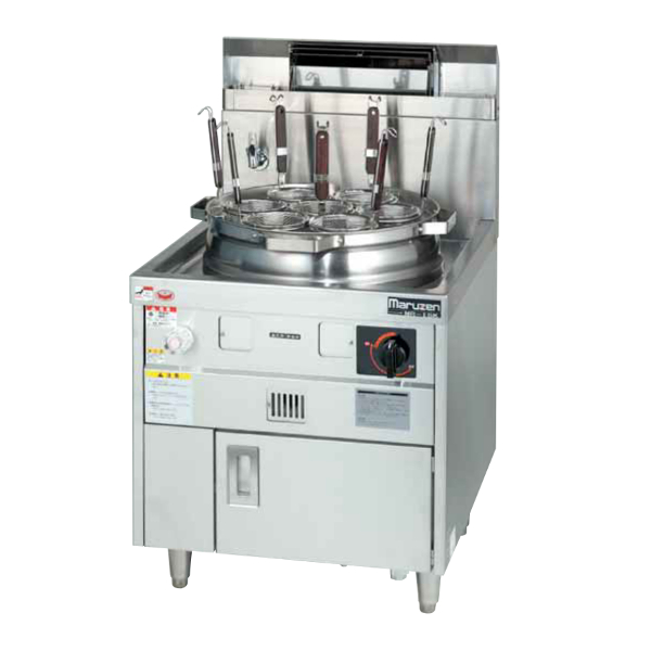 新品 送料無料 マルゼン 18%OFF 5☆好評 業務用 ガス式 ラーメン釜 MR-15M ゆで麺機