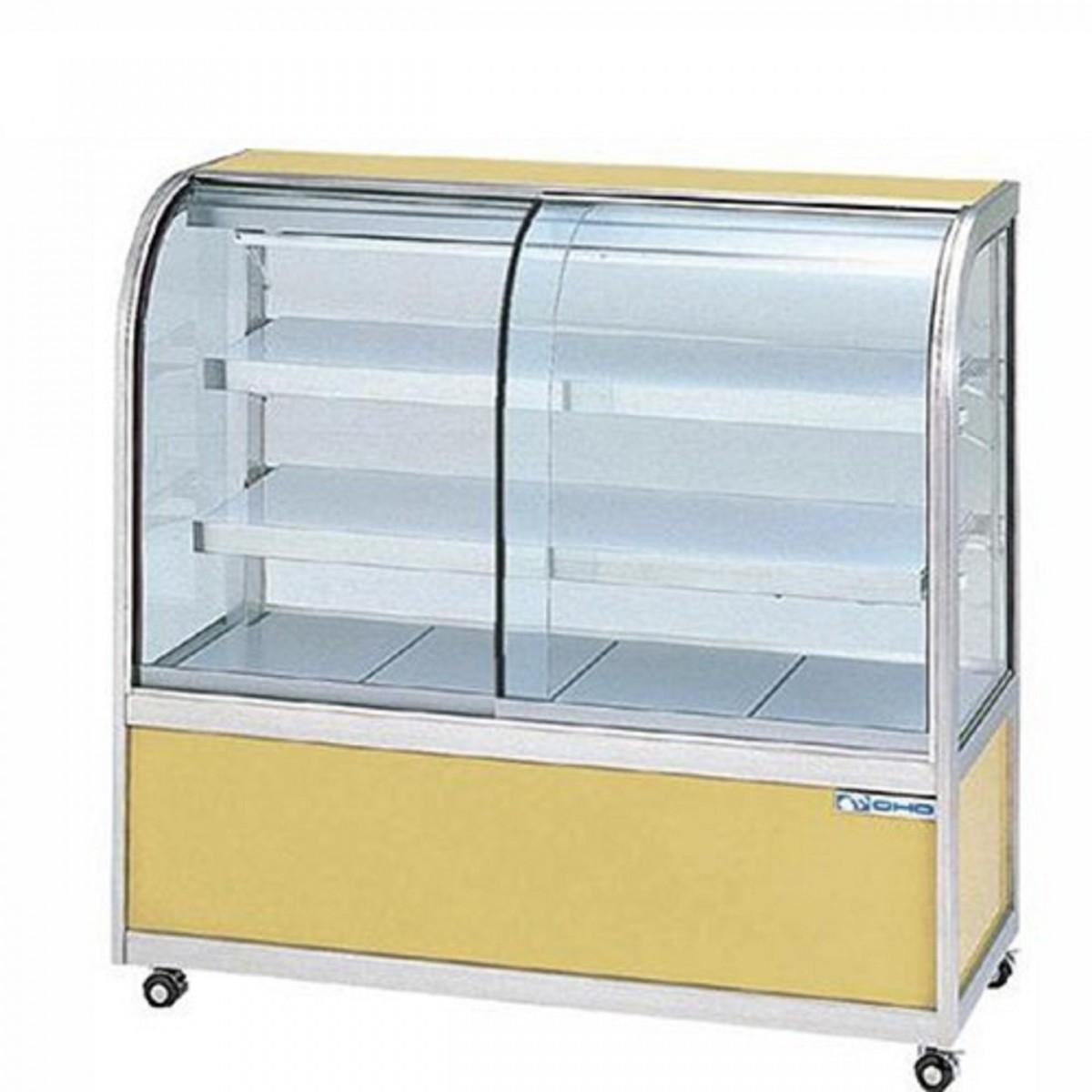 OHO 大穂製作所 冷蔵ショーケース OHGU-TF-2100W 両面引戸