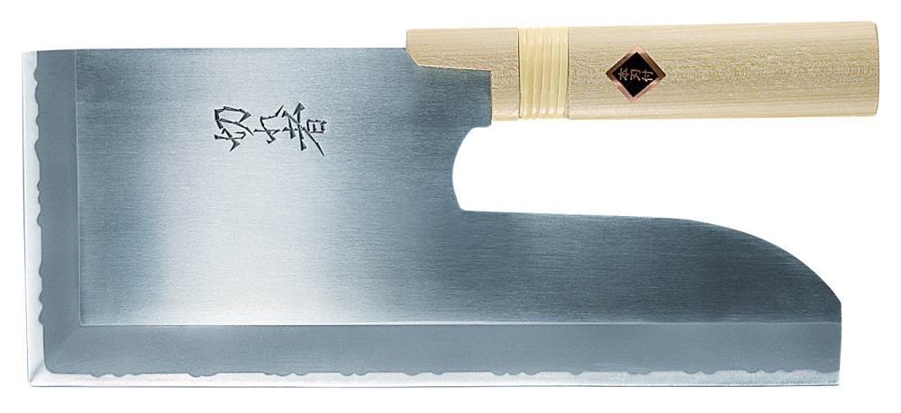 切れ者 ステンレス鋼 麺切包丁 (片刃) A-1058 300mm 業務用包丁