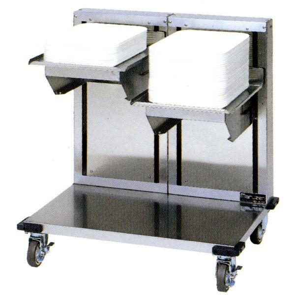 マルゼン 食器ディスペンサー オープンリフトタイプ MSD-L4045W W840×D580×H900