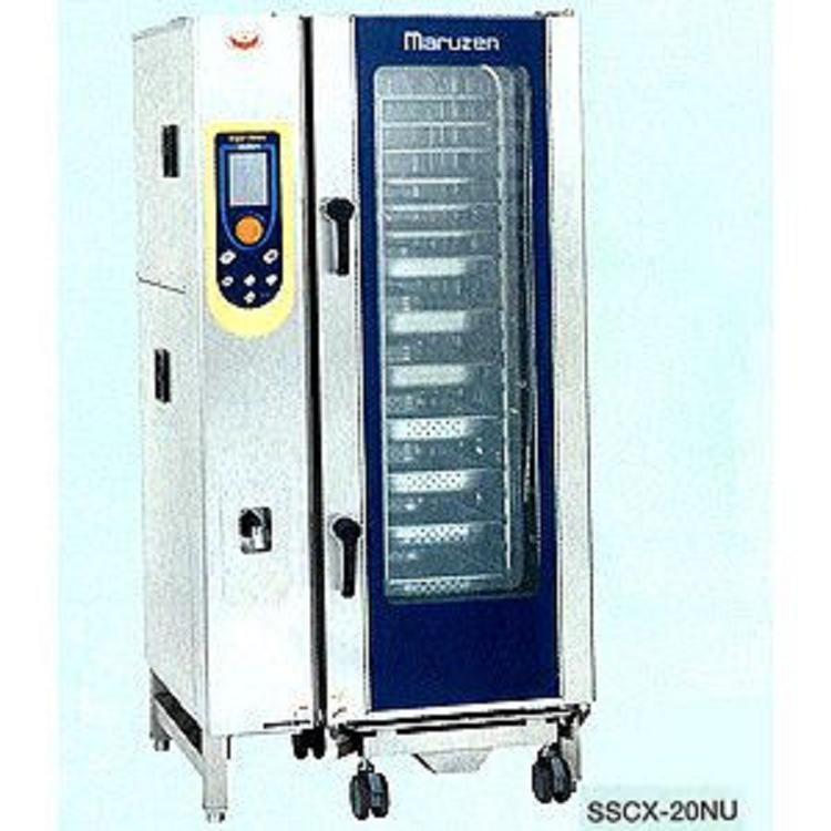 マルゼン 電気式スチームコンベクションオーブン(スーパースチーム) SSCX-P20HNU ハンドシャワー外付け式