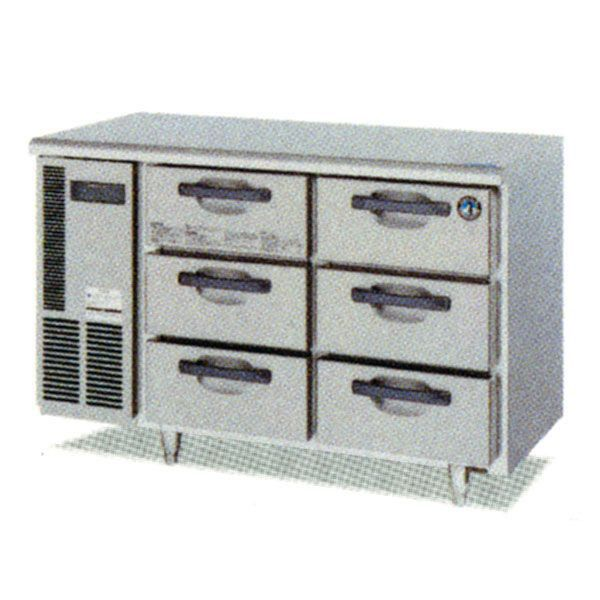ホシザキ ドロワー冷凍庫 FT-120DDCG テーブル形冷凍庫
