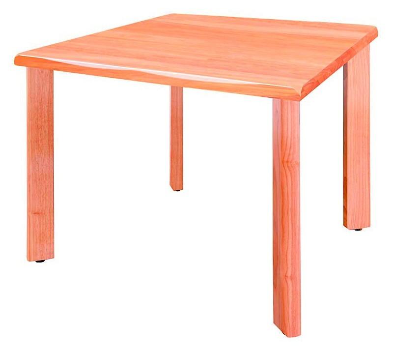 井上金庫 4本固定脚テーブル UFT-W0909 W900×D900×H700(mm) 介護・福祉施設向け