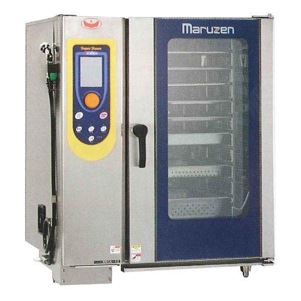 マルゼン 電気式スチームコンベクションオーブン(スーパースチーム) SSCX-06HNU ハンドシャワー外付け式