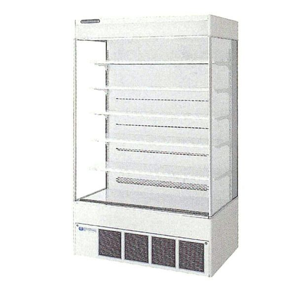 フクシマ 多段 オープンスポットショーケース MCU-45BKSOR 冷凍機内蔵型 MC-5シリーズ 福島工業