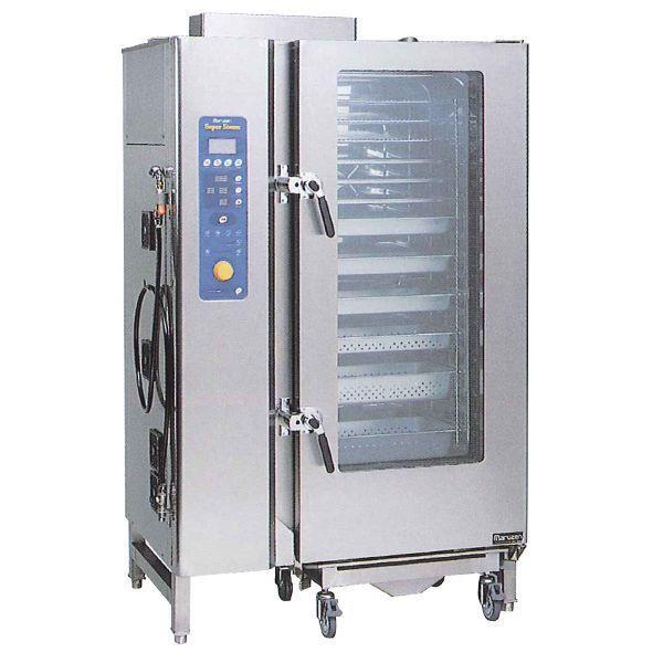流行に  W1235・D815・H1885 専用架台なし マルゼン ガス式スチームコンベクションオーブン SSCG-C20ASCNU 都市ガス仕様-キッチン家電