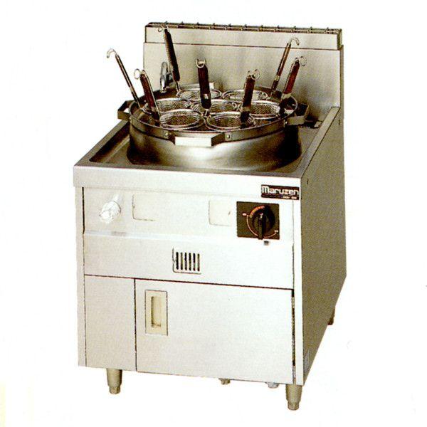 マルゼン ガス式 ラーメン釜 MR-15M ゆで麺機 都市ガス