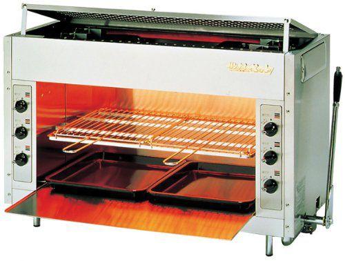 リンナイ ガス赤外線グリラー (上火式) リンナイペット(大) シュバンクバーナー RGP-46SV LPガス(プロパン)仕様