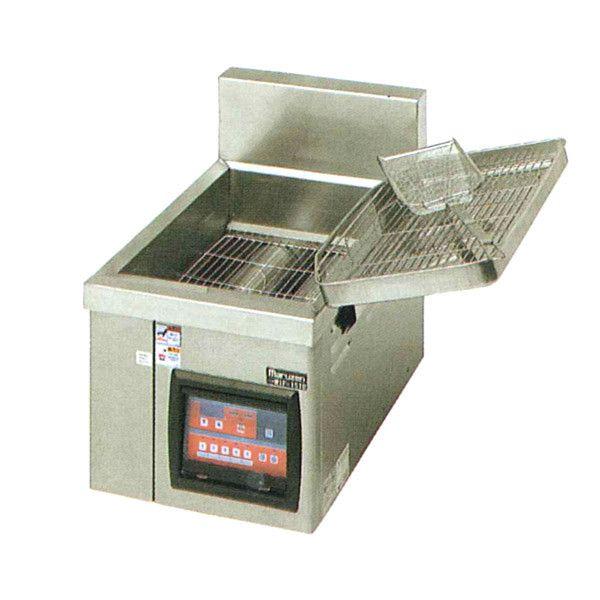 マルゼン IH式電磁フライヤー 卓上タイプ 一層式 MIF-15TC W370×D600×H350×B150