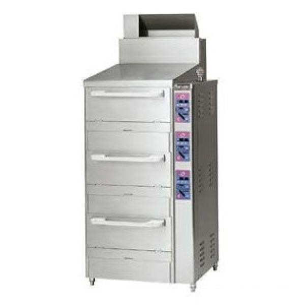 マルゼン 涼厨立体自動炊飯器 MRC-CX2D (MRC-CX2C) 都市ガス仕様 W750×D755×H1100