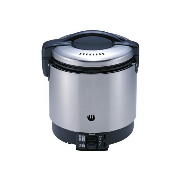 リンナイ ガス炊飯器 (涼厨) RR-S100GS 内側フッ素樹脂加工・立ち消え安全装置付 都市ガス(13A)仕様