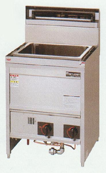 マルゼン ガス式 うどん釜 MGU-066G 都市ガス 角槽タイプ
