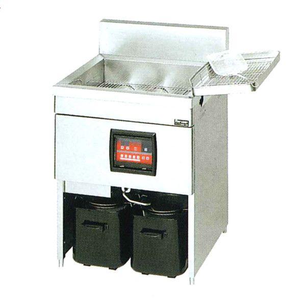 マルゼン IH式電磁フライヤー レギュラータイプ 一層式 MIF-28C W620×D600×H800×B150
