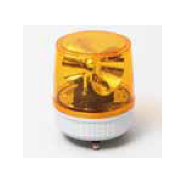 三ッ星貿易 AC100V 回転灯 MT-100N 黄色 イエロー