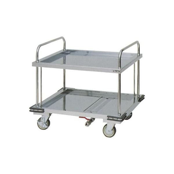 マルゼン 厨房用ワゴン(ドライシステム仕様) ドライ運搬車 MWDU-097 W900×D750×H825