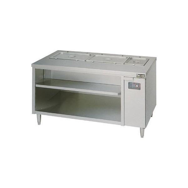 マルゼン 電気ウォーマーテーブル MEWC-097 H900・D750・H800(mm) キャビネットタイプ