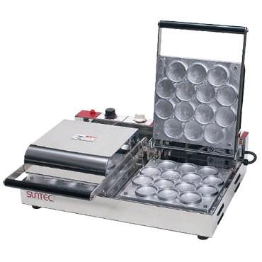 サンテック プチパンケーキベーカー PK-2 2連式 単相200V 受注生産