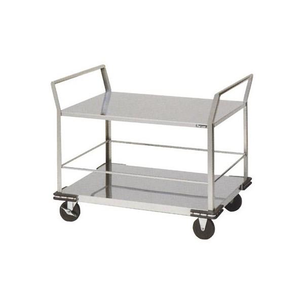 マルゼン 厨房用ワゴン(一般仕様) 廊下用運搬車 MWUP-096 W960×D660×H845