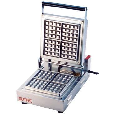 サンテック ベルジャン ワッフルベーカー SBW-100 (4/4) 角型 1連式 単相200V 受注生産