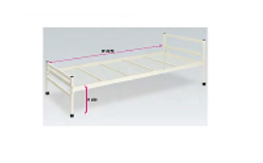 井上金庫 スチール製ベッド TBIN-1165 W2070×D980×H350(mm) 受注生産品 介護・福祉施設向け