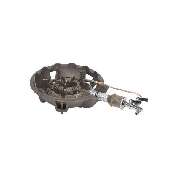 タチバナ 鋳物ガスコンロ TS-540P バーナー・下枠セット 種火付 中型コンロ 穴明タイプ LPガス(プロパン)仕様