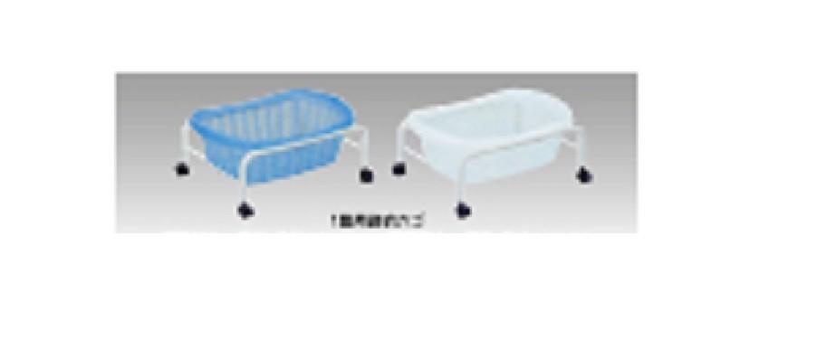 井上金庫 1段用脱衣カゴ TBIN-73-03 ブルー W510×D370×H235(mm) 受注生産品 介護・福祉施設向け