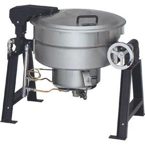 マルゼン ガス回転釜 LPガス仕様 クラッドタイプ 釜底排水付 MKGS-CH036 36L W1265×D762×H780