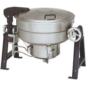 マルゼン ガス回転釜 LPガス仕様 アルミタイプ 自動点火式 釜底排水付 MKGD-AH080 80L W1425×D917×H780