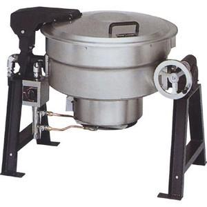 マルゼン ガス回転釜 LPガス仕様 クラッドタイプ 自動点火式 MKGD-C036 36L W1265×D762×H780