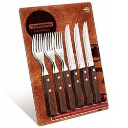 トラモンティーナ TRAMONTINA トラディショナル 12点セット ステーキフォーク&ナイフ 5個セット 22299/009