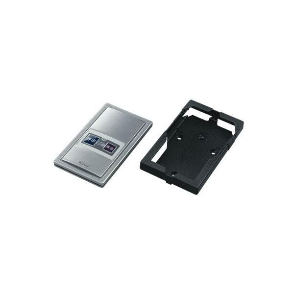 (株)エコー ファクトインコール 送信機 カード型 ホルダー付 F-302 55×93×H11 呼出/消去 メタリック