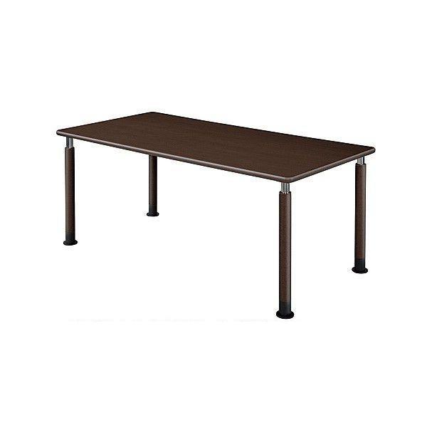 井上金庫 テーブル UFT-1690A Aタイプ 4本固定脚 W1600×D900×H596~796(mm) 介護・福祉施設向け