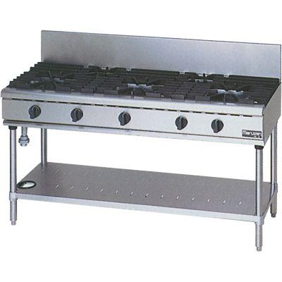 マルゼン NEWパワークックガステーブル LPガス仕様 RGT-1563C (RGT-1563B) W1500×D600×H800×B200(mm)