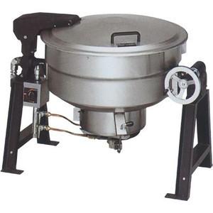 マルゼン ガス回転釜 都市ガス仕様 アルミタイプ 自動点火式 釜底排水付 MKGD-AH055 55L W1365×D862×H780