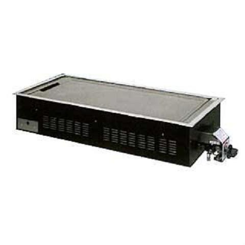 イトキン IKK お好み焼きテーブル(ガスユニットP) PM 4枚焼 LPガス(プロパン)仕様 740・360・9(mm)