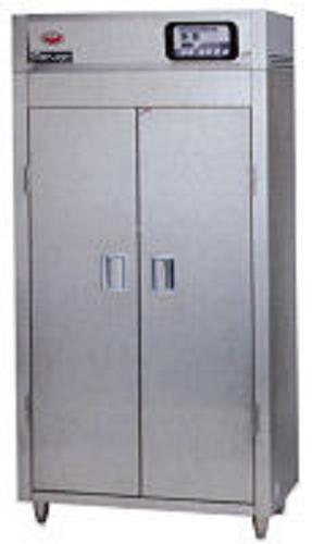 マルゼン 器具消毒保管庫(電気式) 200Vタイプ MKH-057E-W W540×D750×H1850 2点感知式センサー仕様