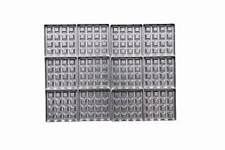 サンテック マルチベーカーPRO 専用交換プレート WS0601 ベルジャンワッフル正角型(6個)