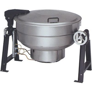 マルゼン ガス回転釜 都市ガス仕様 アルミタイプ MKGS-A150 150L W1550×D1042×H835