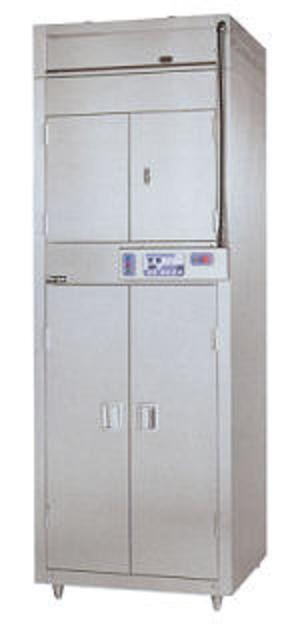 マルゼン 昇降式食器消毒保管庫(電気式) 8段・両面扉 MSHA48-32W8E W1370×D950×H2840
