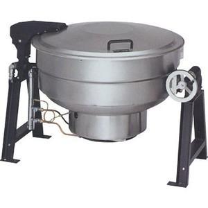 マルゼン ガス回転釜 LPガス仕様 クラッドタイプ MKGS-C150 150L W1550×D1042×H835