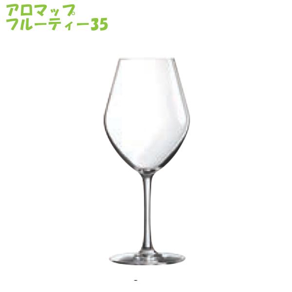 Chef & Sommelier ワイングラス アロマップ シリーズ フルーティー35 (6脚セット!) シェフ ソムリエ フルーティーホワイト