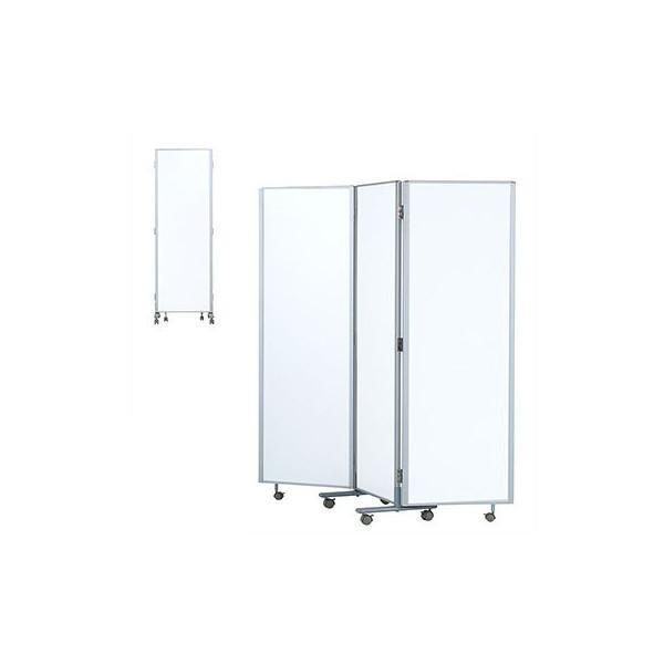 井上金庫 3連パーティション RM3-SWH スチールタイプ W1800×D24×H1800(mm) 介護・福祉施設向け