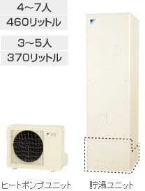 ダイキン エコキュート Sシリーズ 角型 フルオート 460L EQSN46SFV 本体だけ!