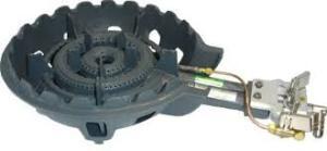 タチバナ 鋳物ガスコンロ TS-210HP バーナー・下枠セット 種火付 二重羽根付コンロ LPガス(プロパン)仕様