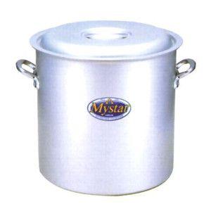 マイスターシリーズ アルミマイスター寸胴鍋 蓋付き 24cm