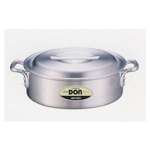アカオ DON 外輪鍋 蓋付き 24cm