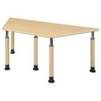 井上金庫 テーブル UFT-5T9018A Aタイプ 4本固定脚 W1800×D780×H596~796(mm) 介護・福祉施設向け